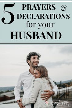 Do you find it hard to pray for your husband? Here are some sample prayers for your husband to help him to succeed in 5 key areas. #prayer #prayforyourhusband #marriage #marriagetips #strongmarriage