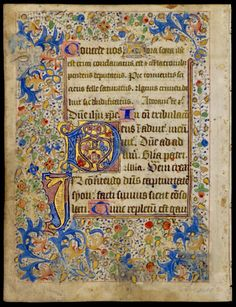 Late medieval Book of Hours (Flanders Book of Hours, circa 1470)