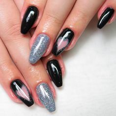 Gorgeous Nail Art Designs With Glitter Accent ❤ Perfect Coffin Acrylic Nails Designs To Sport This Season ❤ See more ideas on our blog!! #naildesignsjournal #nails #nailart #naildesigns #coffinnails #ballerinanails #coffinacrylicnails Best Acrylic Nails, Acrylic Nail Designs, Nail Art Designs, Blush Pink Nails, Coffin Shape Nails, Ballerina Nails, Gorgeous Nails, Nail Inspo, Nail Tips