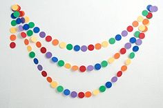 2PackSKYLOVE Circle Dots Paper GarlandChristmas Garland Circle Garland beautiful Garland Paper Garland Rustic Wedding Christmas Decor Party Garland 197 inch in Diameter 13 Feet * Click image for more details.