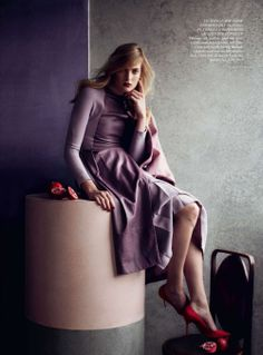 portrait of a lady: ophelie rupp by julia hetta for uk harper's bazaar september 2012