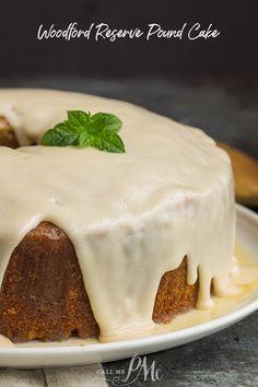Woodford Reserve Pound Cake is a boozy twist on a Southern classic. #recipe #cake #bourbon #poundcake #homemade #fromscratch #poundcakepaula #Southern #dessert @WoodfordReserve