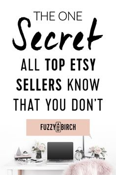 The Secret All Top Etsy Sellers Know that you Don't - Find out what you need to do to shift your Etsy frustration into SALES. Click to read. #shopsmall #smallbiz #mycreativebiz #femaleentrepreneur #makersgonnamake #momboss #etsy #etsyshop #etsyseller #hustle #grind #entrepreneur #entrepreneurship #success