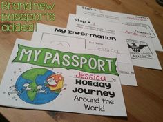 Christmas Around the World- passports, reading booklets, interactive flip books, and writing for  10 different countries