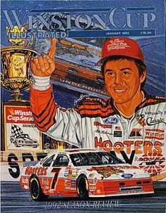 Alan Kulwicki, 1992 NASCAR Winston Cup Champion, killed in plane crash April 1, 1993