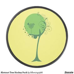 Shop Abstract Tree Hockey Puck created by Personalize it with photos & text or purchase as is! Hockey Gear, Hockey Puck, A Team, Abstract, Summary