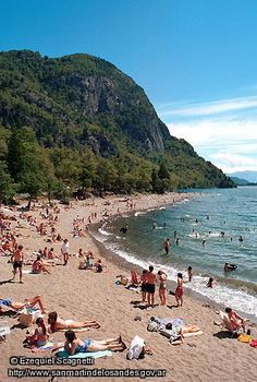 Playa Catritre - San Martin de los Andes, provincia de Neuquen, Argentina Tango, Beautiful Places, Beautiful Pictures, Largest Countries, South America Travel, Piazza Navona, Travel Destinations, Surfing, Places To Visit