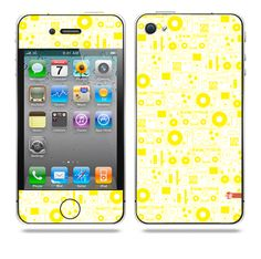 Evolution of Audio Yellow iPhone skin by TAJTr