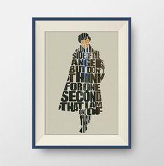 Sherlock quote Cross stitch pattern, Quote cross stitch, PDF counted cross stitch pattern, P129