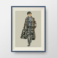 BUY 2 GET 1 FREE Sherlock quote Cross stitch by NataliNeedlework