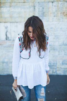 pinterest: crtnyll //   natalie dressed   chicwish top