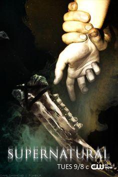 Season 10 Mark of Cain fan made poster Supernatural Poster, Supernatural Fans, True Tv, Mark Of Cain, Demon Dean, New Actors, Winchester Boys, Smallville, Destiel