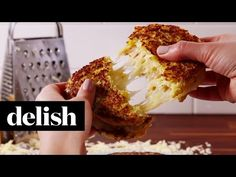 Best Cauliflower Grilled Cheese - How to Make Cauliflower Grilled Cheese Delicious. It hit the spot when I was craving a grilled cheese sammy, early on in my low carb diet. Low Carb Recipes, Gluten Free Recipes, Vegetarian Recipes, Cooking Recipes, Healthy Recipes, Grilled Cheese Recipes, Grilled Cheeses, Crockpot, Sandwiches