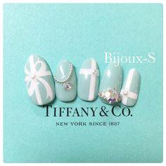 Tiffany Blue Nails, Tiffany And Co, Turquoise Nail Art, Witchy Nails, Shellac Manicure, Blue Nail Designs, Glow Up Tips, Summer Acrylic Nails, Bridal Nails
