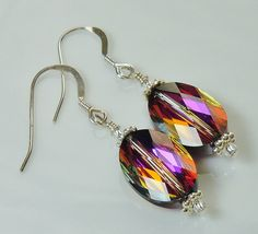 A personal favorite from my Etsy shop https://www.etsy.com/listing/264123660/swarovski-crystal-volcano-drop-earrings