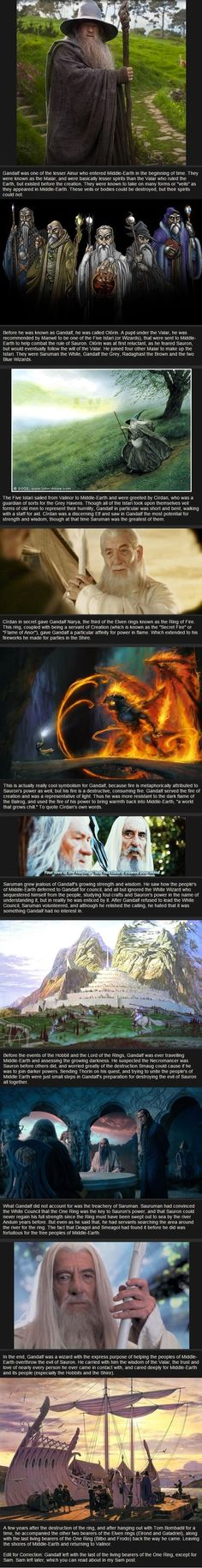 The Life and Times of Gandalf the Grey