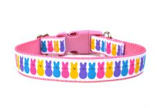 Easter Dog Collar <3  PEEPS!  I love this!!!