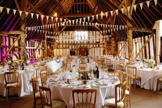 Ready for a wedding breakfast at Clock Barn <b><a href=http://www.lydiastampsphotography.com/ target=_blank>© Lydia Stamps Photography</a></b>