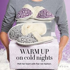 The cold is coming! Avon has all the cute things to keep you warm on those cold nights. A new campaign just started, come take a look! Stay Warm, Warm And Cozy, Avon Fashion, Holiday Fashion, Winter Slippers, Cold, My Style, Christmas Gifts, Winter Christmas