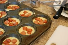 Corn Dog Muffins - can be made ahead and frozen for a quick lunch!
