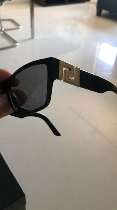 5232e5794e Versace Sunglasses Men Key Authentic Italy Unisex Black Gold Greek  Polarized  fashion  clothing  shoes  accessories  mensaccessories ...