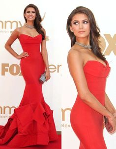 Red Ruled the Emmy's Red Carpet: Who Wore It Best?