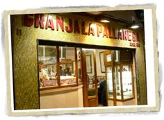 Granja La Pallaresa, Barcelona *gluten free churros