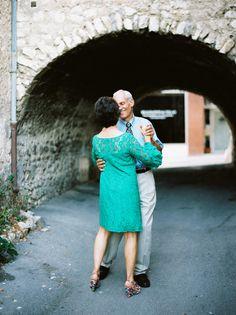 Intimate French Riviera Wedding via oncewed.com