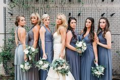 Southern Shades of Grey <3 Nashville Wedding Photographer Laura K. Allen | Wedding at The Bridge Building…