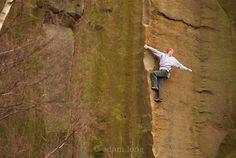 When Alex came to town - Alex Honnold soloing Edge Lane, E5, Millstone, Peak District