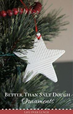 Better Than Salt Dough Ornaments | lifeoverlunch