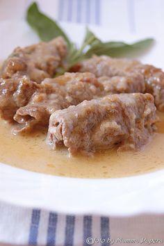 Involtini prosciutto, formaggio e fichi, la carne, poi ripiena ammettiamolo, viene sempre più buona! Così oggi ho preparato questi. http://www.blogfamily.it/30215_involtini-prosciutto-formaggio-fichi/