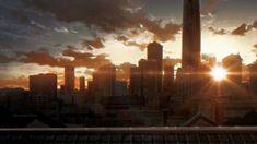 Seattle Skyline, New York Skyline, City, Anime, Travel, Viajes, Cities, Cartoon Movies, Destinations