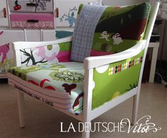 Patchwork Sessel auf www.ladeutschevita.info