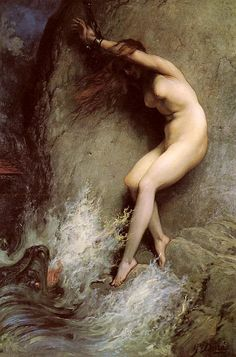 Gustave Dore Andromeda oil painting for sale; Select your favorite Gustave Dore Andromeda painting on canvas or frame at discount price. Gustave Dore, Gustave Courbet, Pics Art, Piet Mondrian, Boris Vallejo, Hand Painted Canvas, Erotic Art, Les Oeuvres, Art History