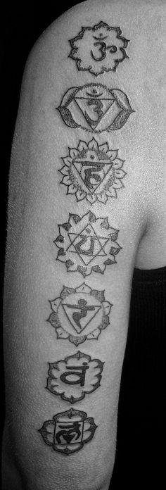 Tattoos Based on the 7 Chakras   Tattoo.com