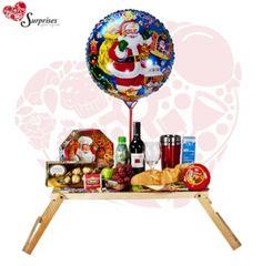 Desayuno Especial Navidad. Hermoso regalo, para sorprender en cualquier ocasión, con estilo, le encantara. www.surprisesbogota.com tel: 4380157 Cel: 3123750098