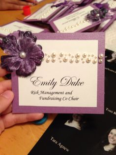 Name tags for recruitment