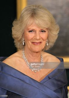 Camilla, Duchess of Cornwall smiles as she poses for a photograph ahead of an official dinner at the Royal Palace on March 26, 2012 in Copenhagen, Denmark. Prince Charles, Prince of Wales and Camilla, Duchess of Cornwall are on a Diamond Jubilee tour of Scandinavia that takes in Norway, Sweden and Denmark.  (Photo by Chris Jackson/Getty Images)