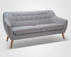 Use of Metal in Mid-Century Modern Furniture Furniture Makeover, Furniture Decor, Furniture Design, Duck Egg Blue Living Room, Cantilever Chair, Living Room Arrangements, 2 Seater Sofa, Small Living Rooms, Mid Century Modern Furniture