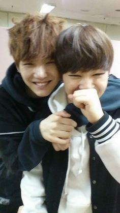 so cute. Yoonmin :)