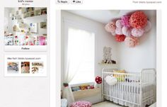 Baby rooms and baby nursery ideas trending on Pinterest