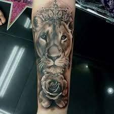 Resultado de imagem para lion couple tattoos