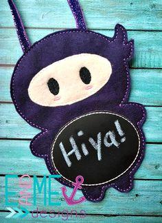 Ninja Boy - Ornament
