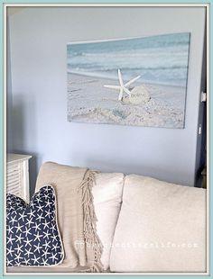BELIEVE / Starfish Stone Sand BEACH COASTAL Living