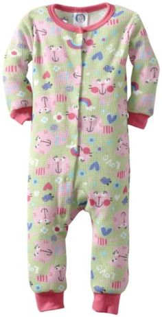 Gerber Baby-girls Infant 1 Piece Thermal Unionsuit « Clothing Impulse
