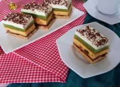 Sernik z pianką i musem jabłkowym Tiramisu, Cheesecake, Food And Drink, Ethnic Recipes, Sweet, Cooking, Mascarpone, Candy, Kitchen