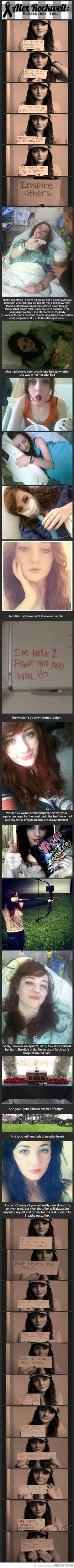 Alex Rockwell: this girl is amazing…