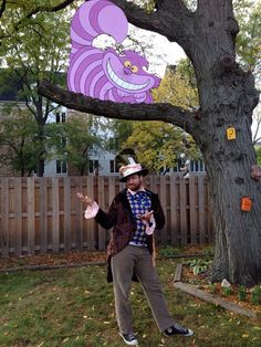 Korah's 2nd birthday party - Alice in Wonderland. Mad hatter