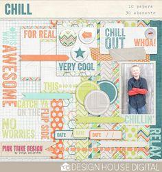 Chill full kit freebie from Pink Trike Design  Auf qualitydigiscrapfreebies.blogspot.com